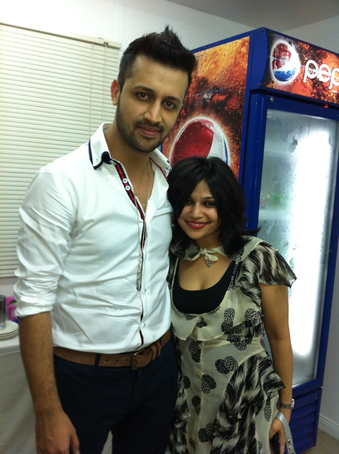 Atif Aslam and Hard Kaur live in Concert, Dubai