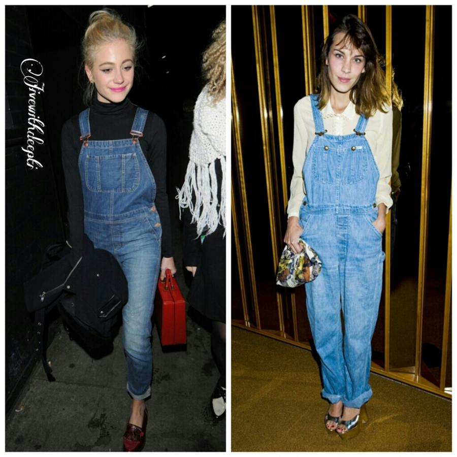 "Dungarees, ""Back in fashion"""