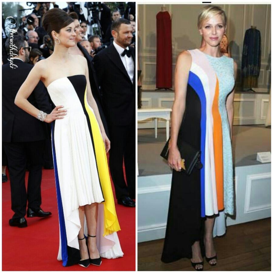 Christian Dior: Marion Cotillard vs. Princess Charlene ofMonaco