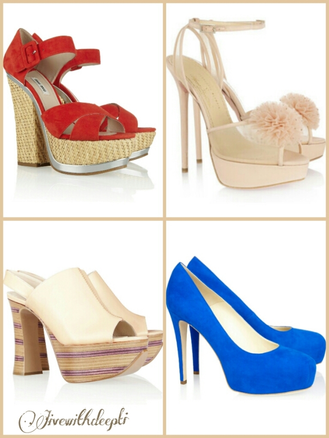 My pick: Platform shoes for summers