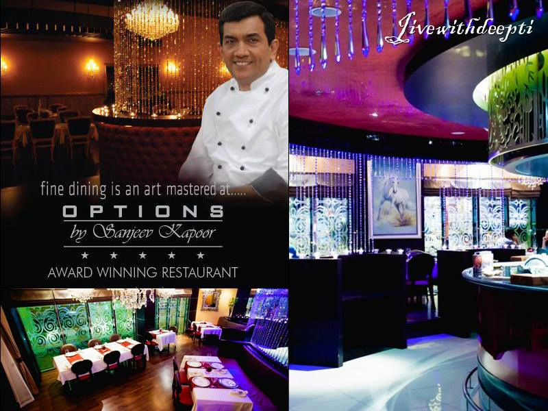 Options by sanjeev kapoor dubai world trade centre