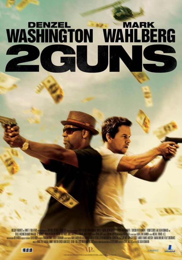 "Win invites to the advance screening of ""2 Guns"""