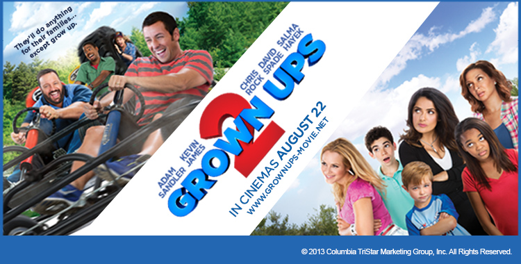 "Win Invites to the Premiere of ""GROWN UPS 2"""
