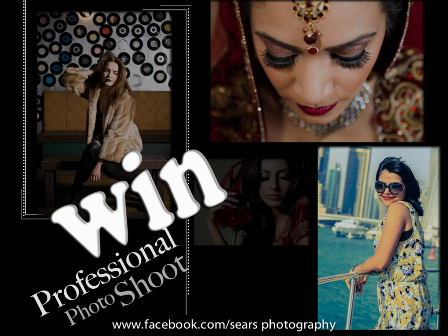 Get a chance to Win a ProfessionalPhoto-shoot