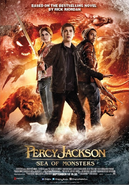 Get a chance to win 10 invites to the movie premiere of PERCY JACKSON: SEA OF MONSTERS