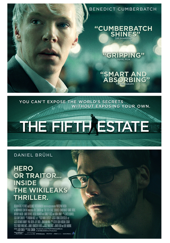 """Get a chance to win 10 invites to the movie premiere of """"THE FIFTHESTATE"""""""