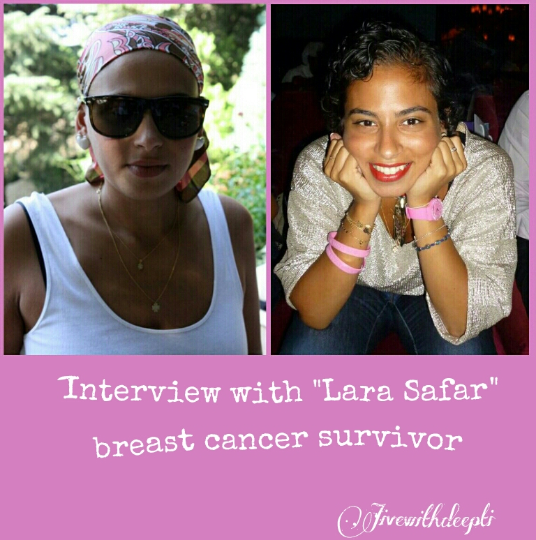 Interview with the Breast Cancer Survivor: Lara Safar