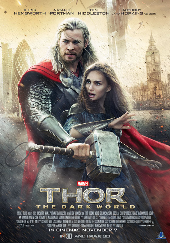 """Get a chance to win 10 invites to the advance screening of Marvel's """"Thor: The DarkWorld'."""