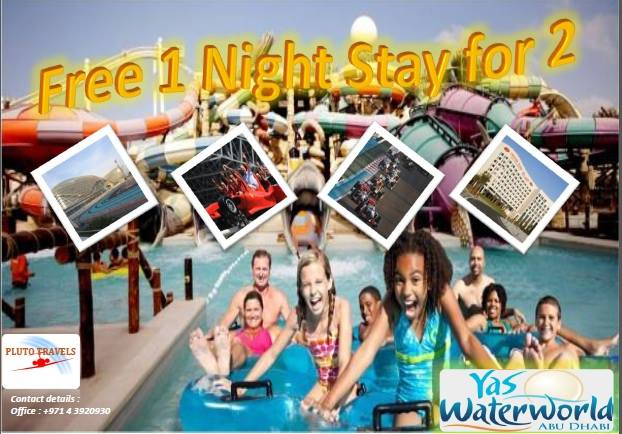 Get a chance to win one night stay at YAS ISLAND