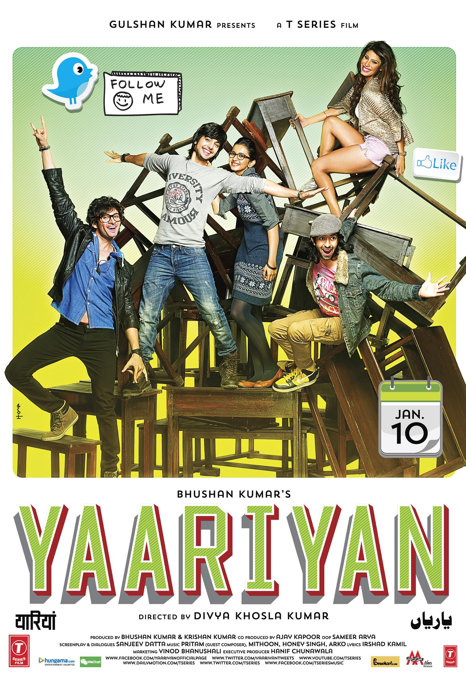 Yaariyan Poster Get a chance to win 5 ...
