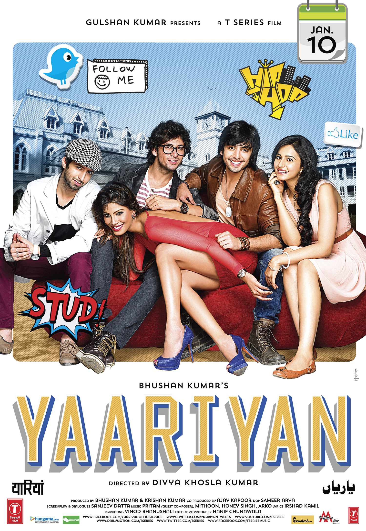 Yaariyan Movie 2013 Cast Get a chance to win 5 ...
