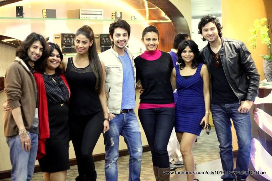 YAARIYAN team in Dubai for Moviepromotion
