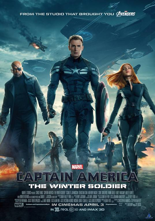 Get a chance to win 5 pair of invites to the advance screening of 'Captain America: The Winter Soldier'