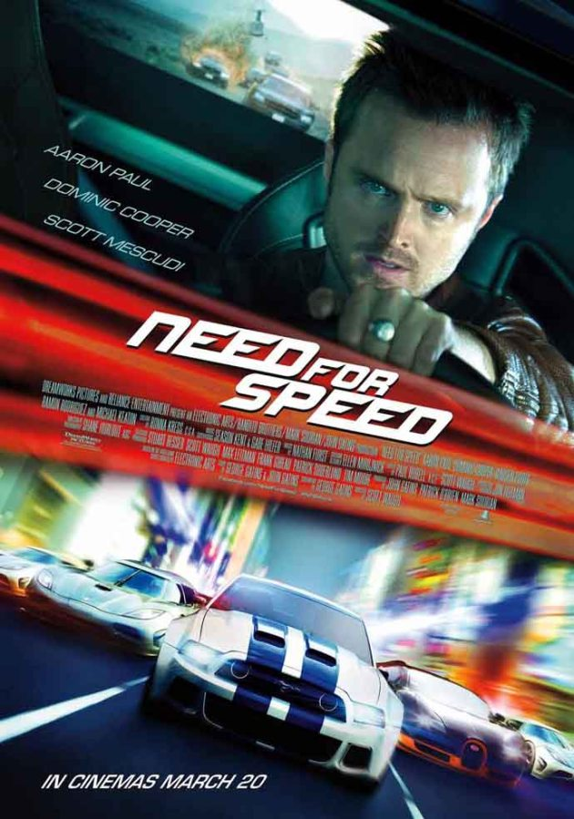 Get a chance to win 5 pair of invites to the advance screening of the action movie: 'Need for Speed'