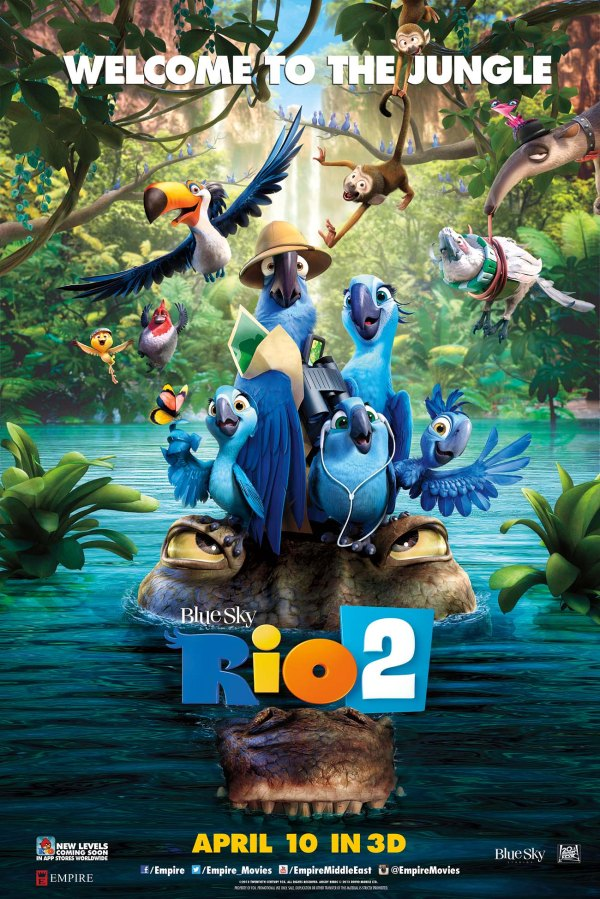 Get a chance to win 20 invites to the premiere of 'Rio 2' in 3D