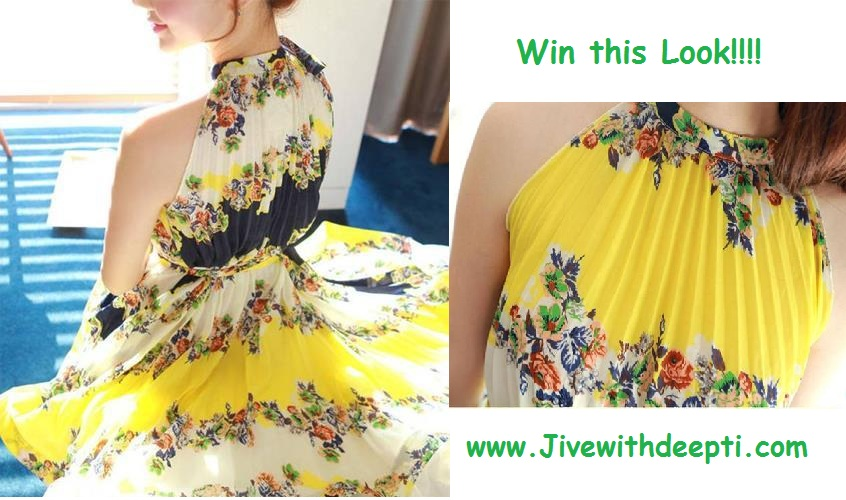 "Get a chance to win this ""Summer Look"" courtesy jivewithdeepti.com."
