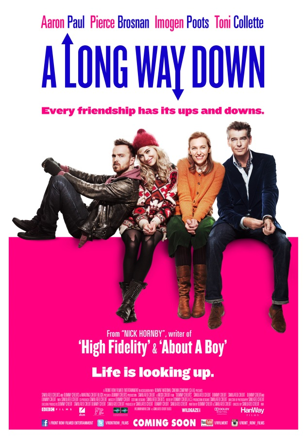 "Win 20 Invites to the Premiere of the film""A Long Way Down"""
