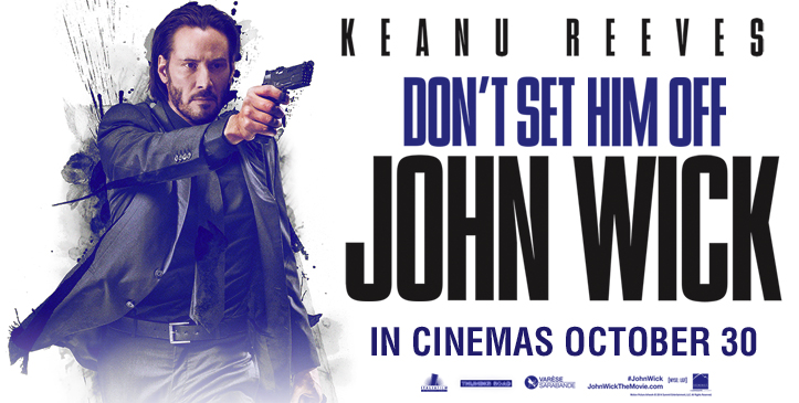 Get a chance to win 10 invites to the premiere screening of movie 'John Wick'