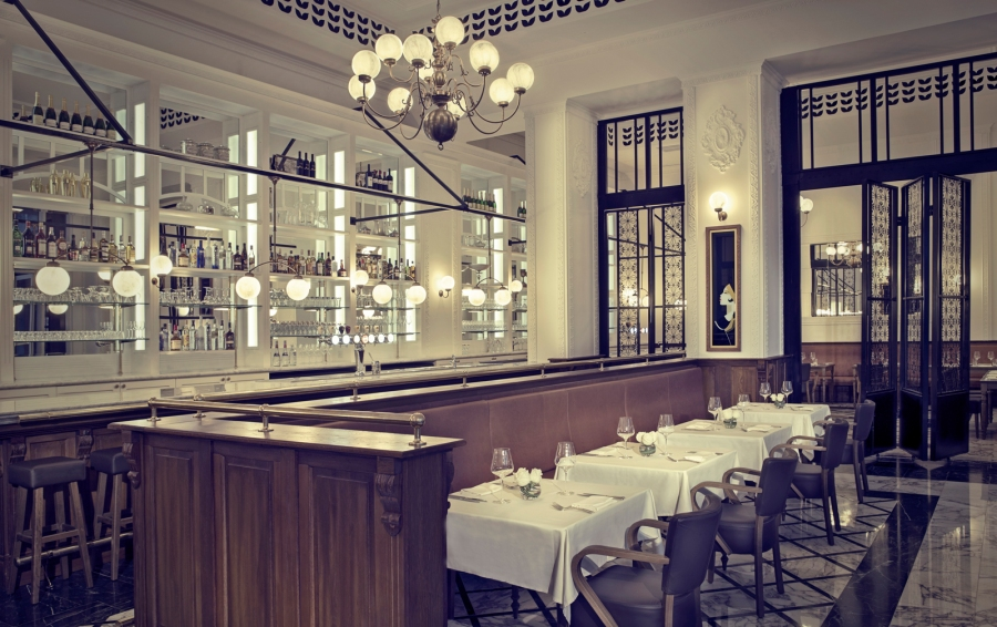 Café Belge in the heart of DIFC at The Ritz-Carlton