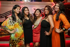 Ayesha, Chantelle, Deepti Rochelle Maimona