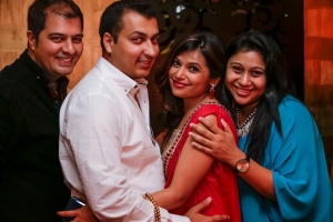 Dhiraj, Rahul. Deepti and Dia