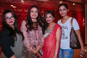 Serene, Juhi, Deepti and Aaanya