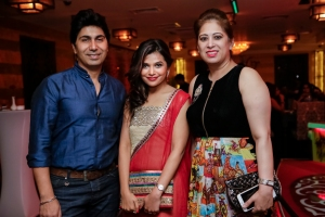 Umesh, Deepti and Mahek