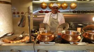Beach Rotana Chef Ganesh at Work
