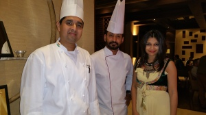 With Indigo Chef Nitin and Celebrity Chef Ashfaque Quershi