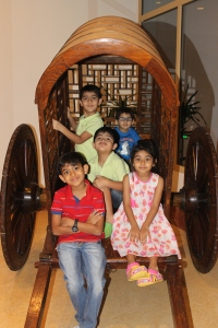Kids fun at Sabella Italian restaurant