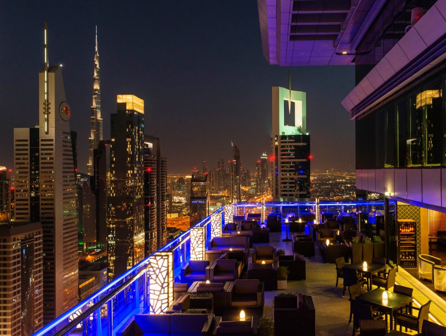 Chic venue: Level 43 Sky Lounge, Dubai