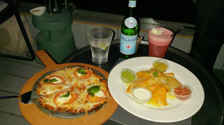 Melia Estrellas Nacos and Stone oven pizza