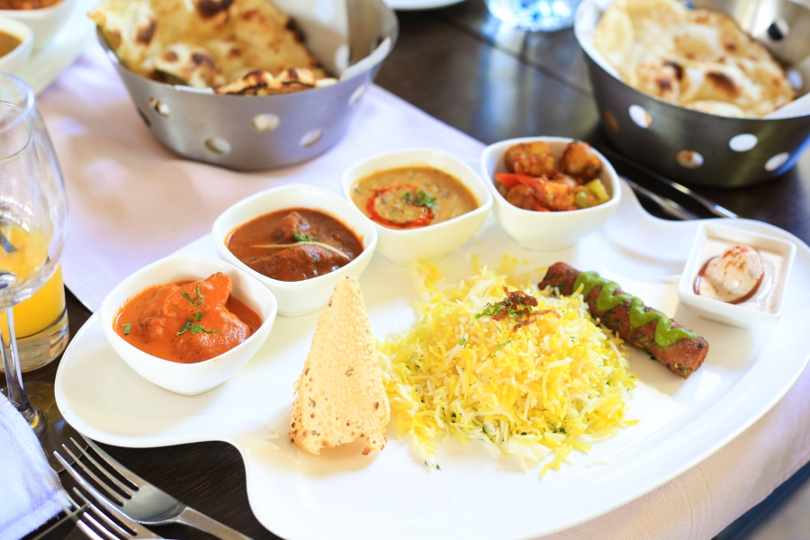 Thali Special at MAHEC, Le Meridian Dubai Hotel & Conference Centre