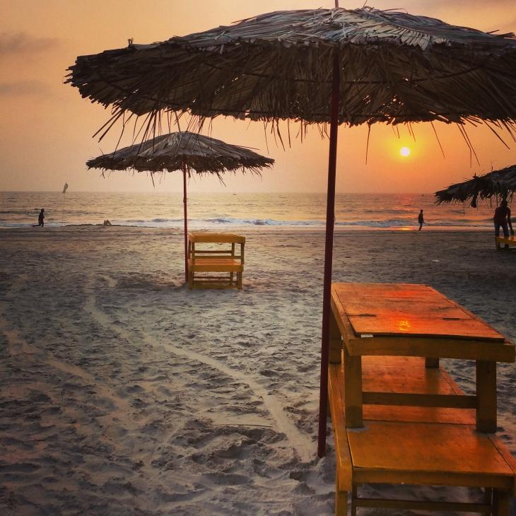 Alila Gonsua beach Sunset