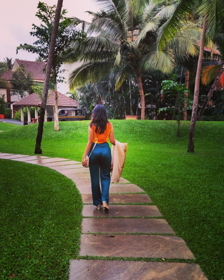Alila Inside the resort greenery