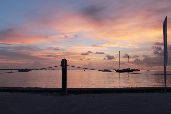 m longe sunset