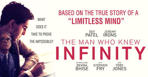 Film Review: The Man Who Knew Infinity, Rating3.5/5